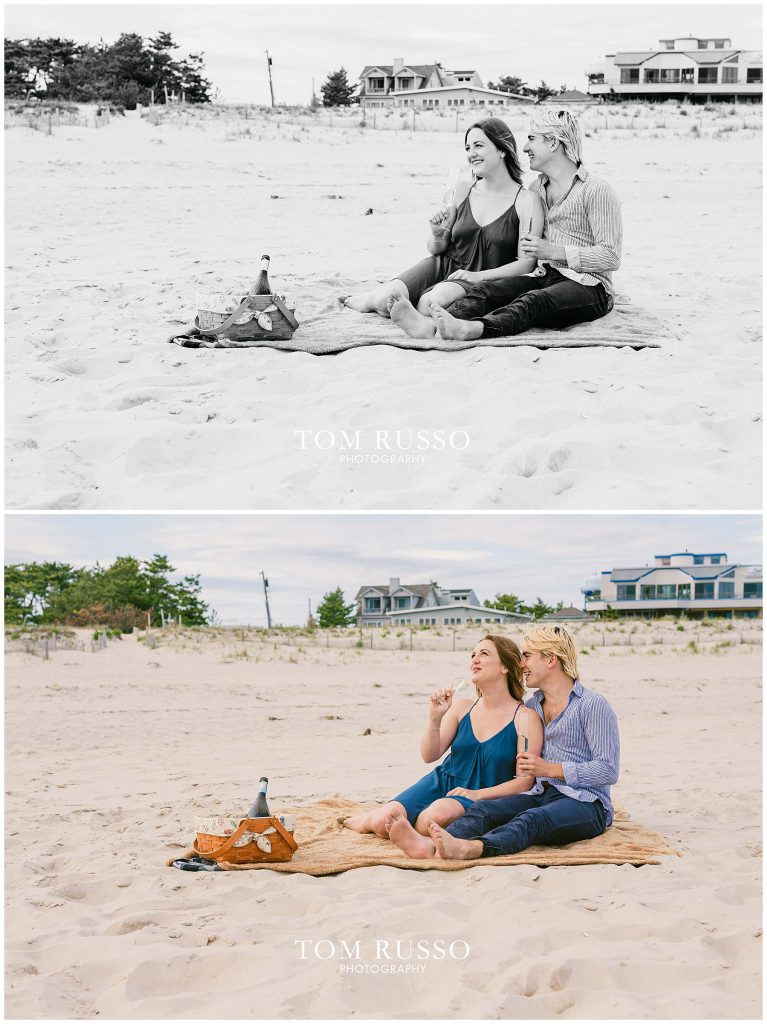 Brielle and Jack Long Beach Island Engagement Session 55