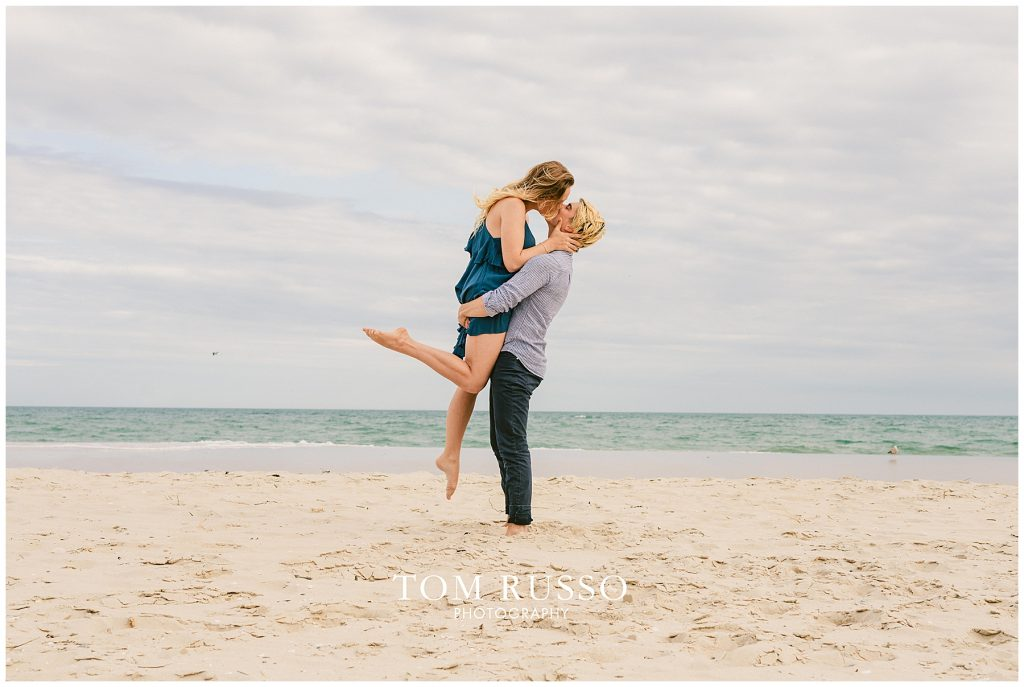 Brielle and Jack Long Beach Island Engagement Session 59