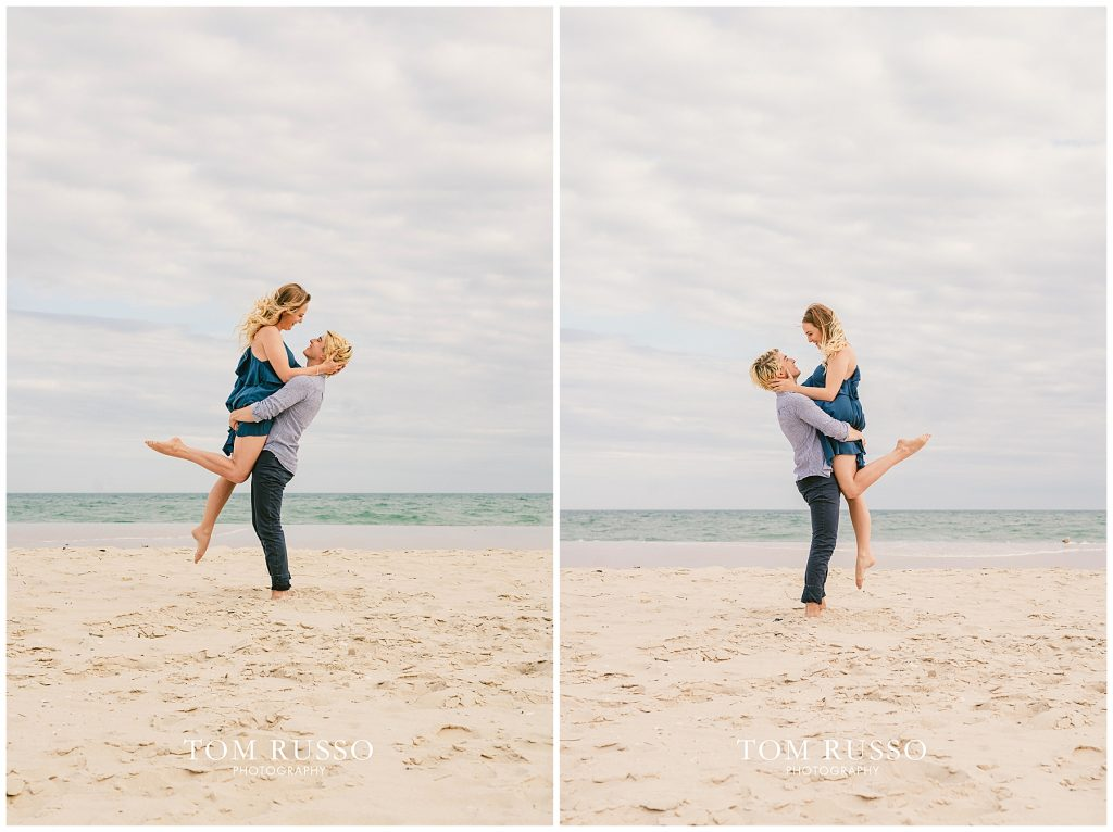 Brielle and Jack Long Beach Island Engagement Session 60