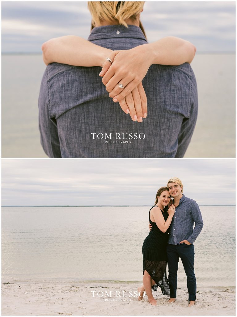 Brielle and Jack Long Beach Island Engagement Session 70