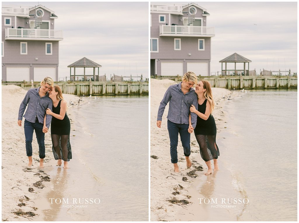 Brielle and Jack Long Beach Island Engagement Session 72