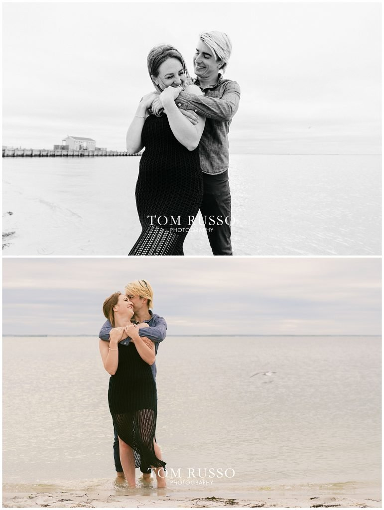 Brielle and Jack Long Beach Island Engagement Session 77