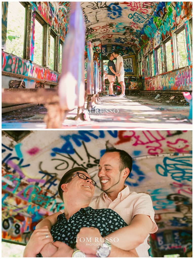 David and Chris Engagement Session New Hope PA 41