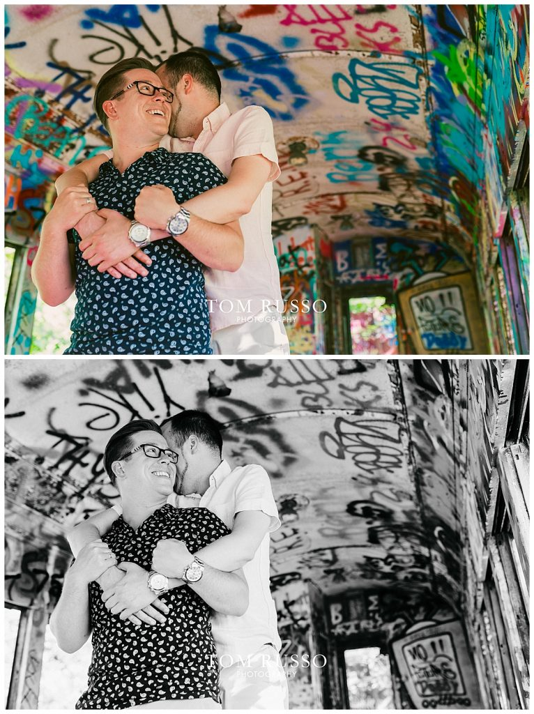 David and Chris Engagement Session New Hope PA 42
