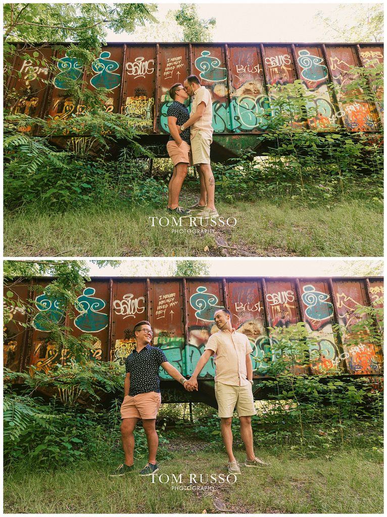 David and Chris Engagement Session New Hope PA 48