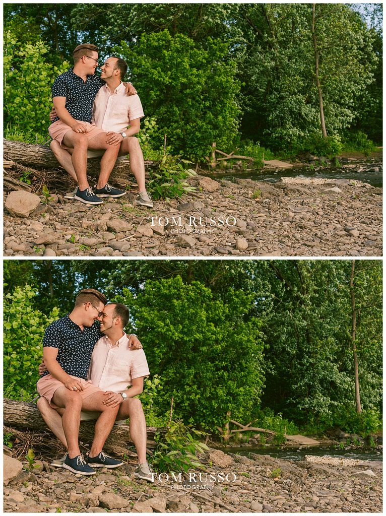 David and Chris Engagement Session New Hope PA 53