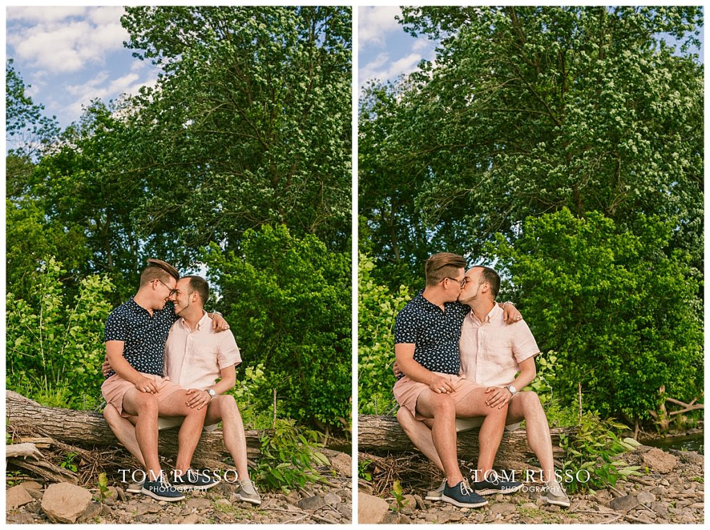 David and Chris Engagement Session New Hope PA 52