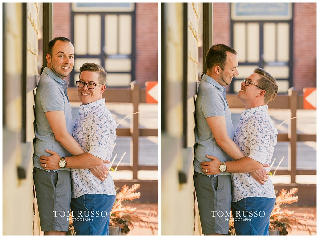 David and Chris Engagement Session New Hope PA 56