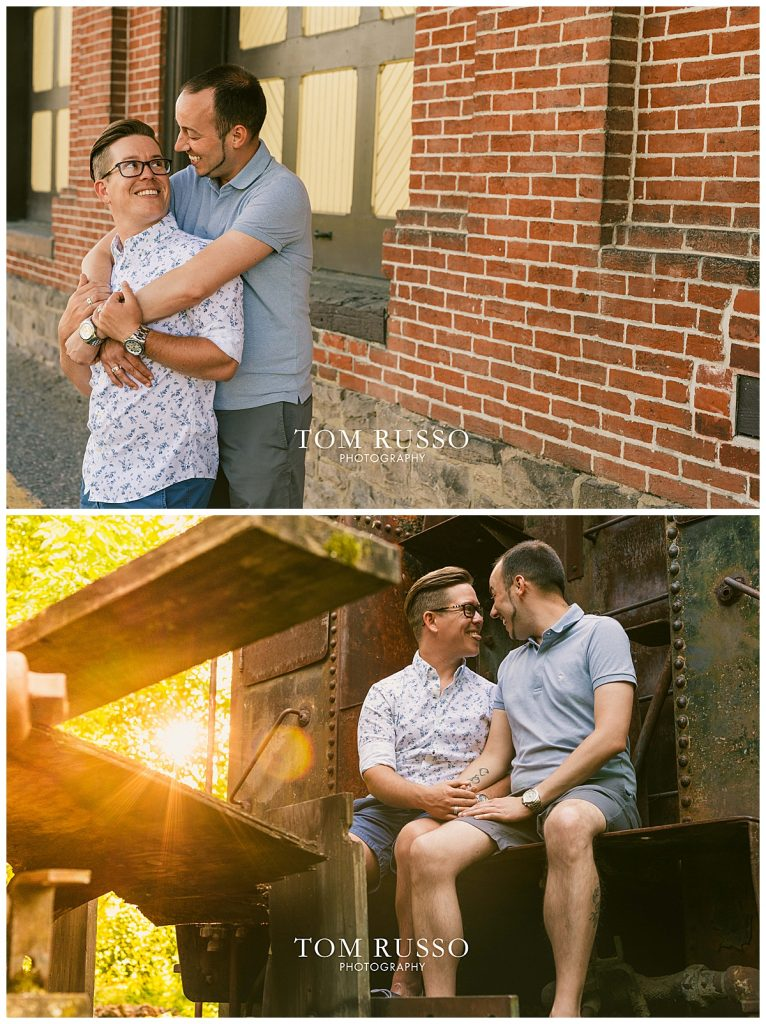 David and Chris Engagement Session New Hope PA 59