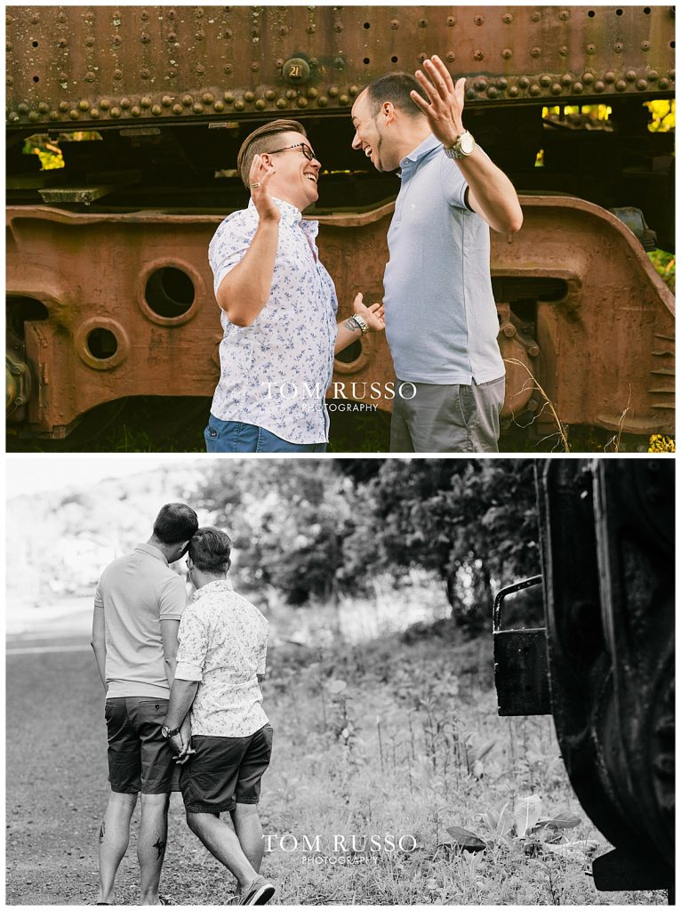 David and Chris Engagement Session New Hope PA 58