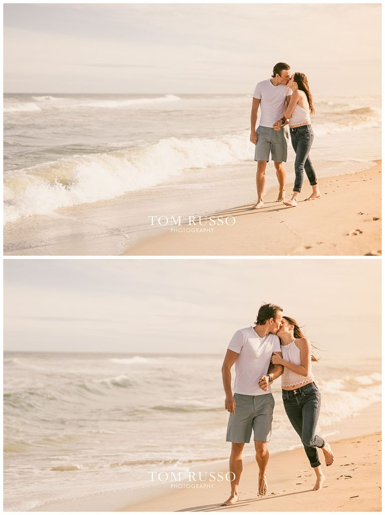 Jake and Nicole Engagement Session Long Beach Island NJ 55
