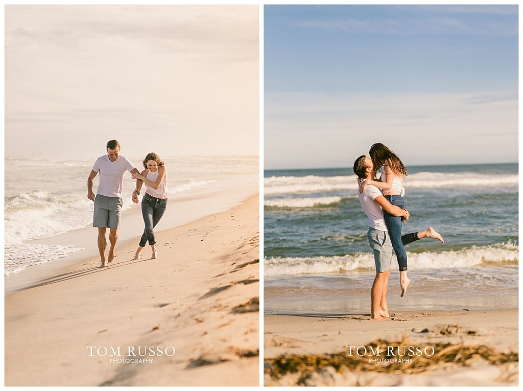 Jake and Nicole Engagement Session Long Beach Island NJ 56