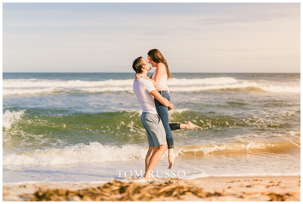 Jake and Nicole Engagement Session Long Beach Island NJ 57