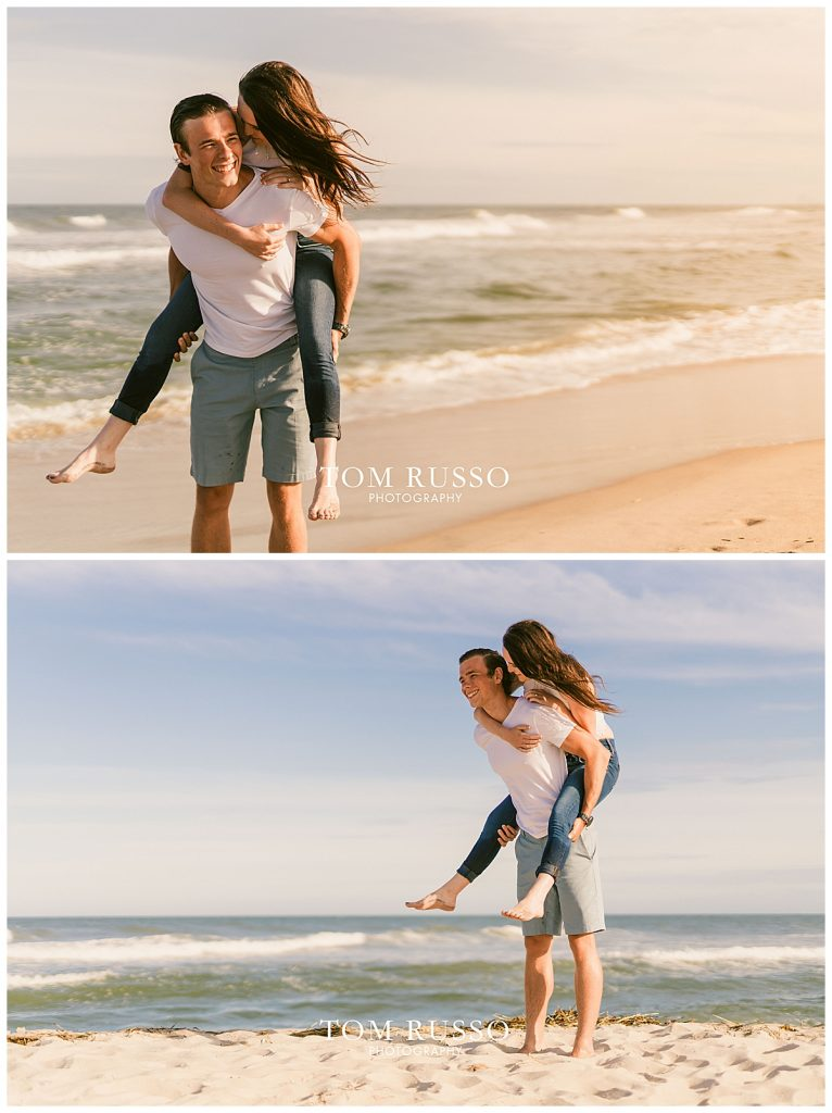 Jake and Nicole Engagement Session Long Beach Island NJ 58