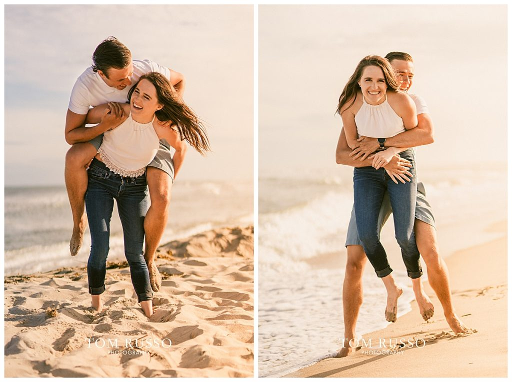Jake and Nicole Engagement Session Long Beach Island NJ 61