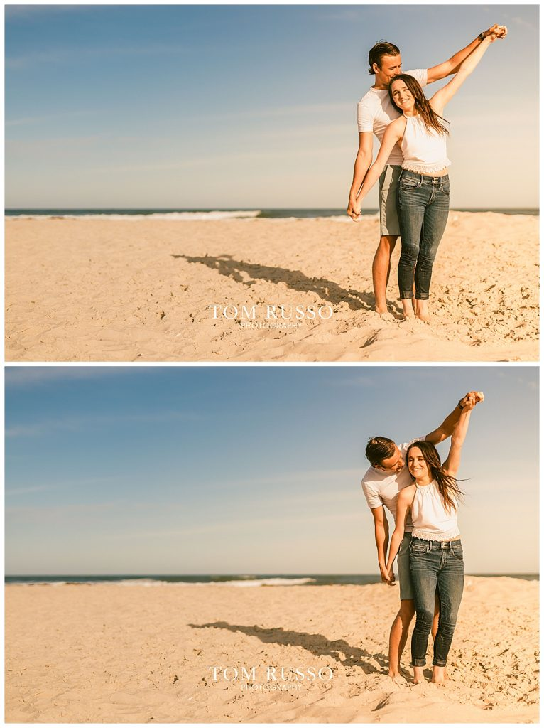 Jake and Nicole Engagement Session Long Beach Island NJ 62