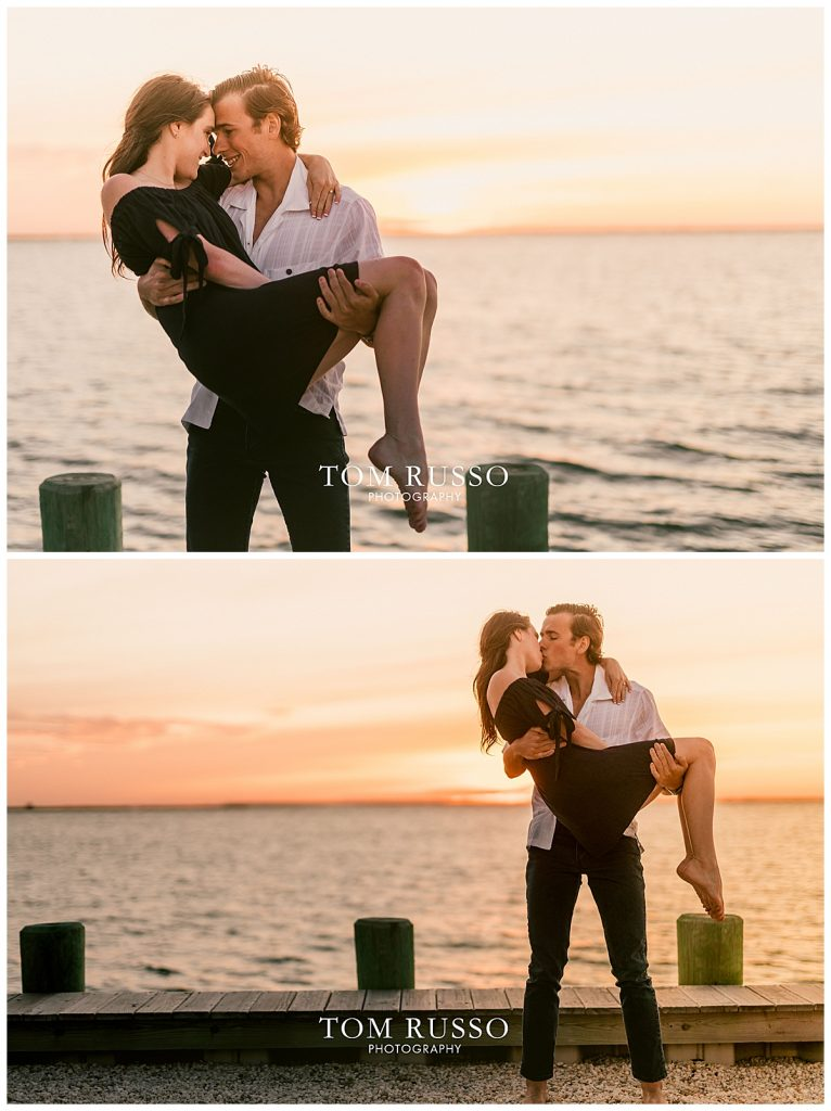 Jake and Nicole Engagement Session Long Beach Island NJ 72