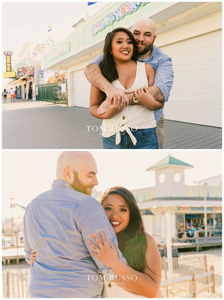 Jon and Kristina Engagement Session Point Pleasant Beach NJ 49