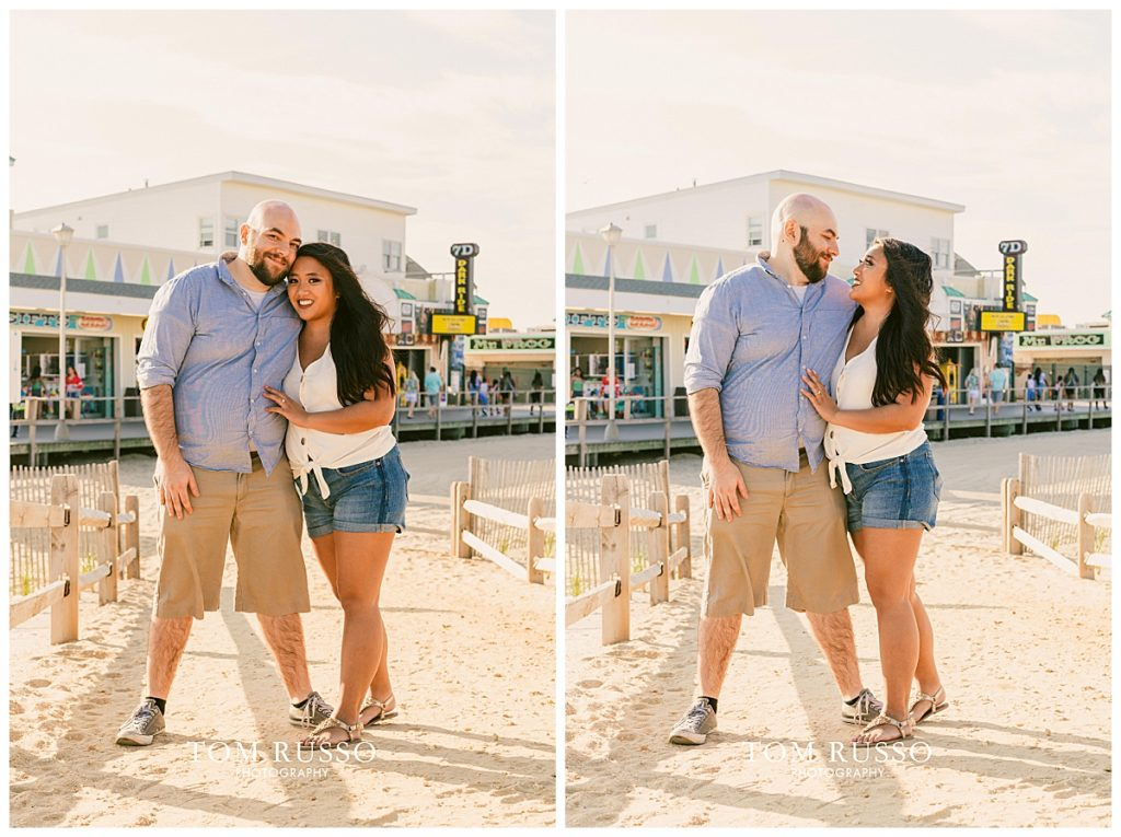 Jon and Kristina Engagement Session Point Pleasant Beach NJ 50