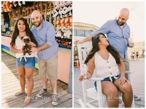 Jon and Kristina Engagement Session Point Pleasant Beach NJ 55