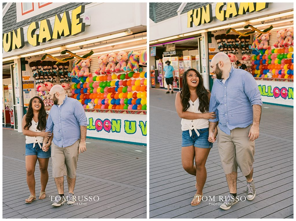Jon and Kristina Engagement Session Point Pleasant Beach NJ 54