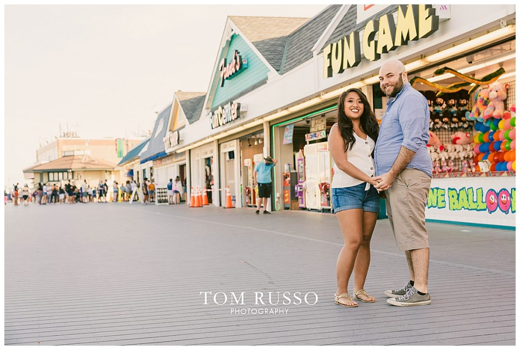 Jon and Kristina Engagement Session Point Pleasant Beach NJ 58