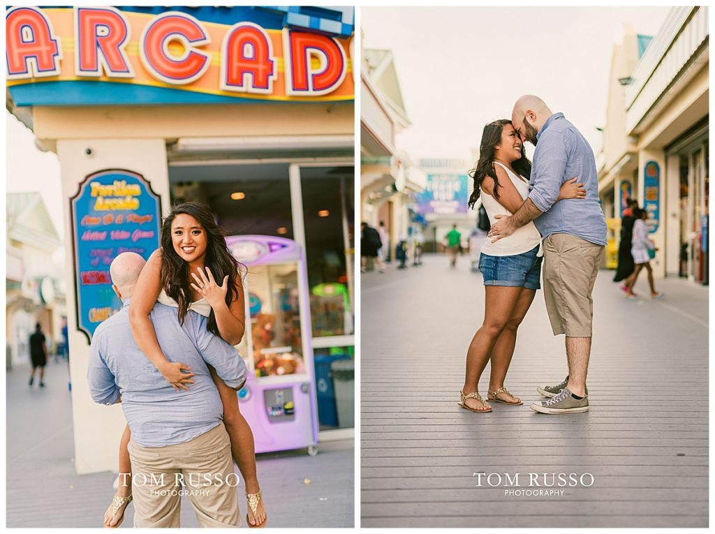 Jon and Kristina Engagement Session Point Pleasant Beach NJ 62