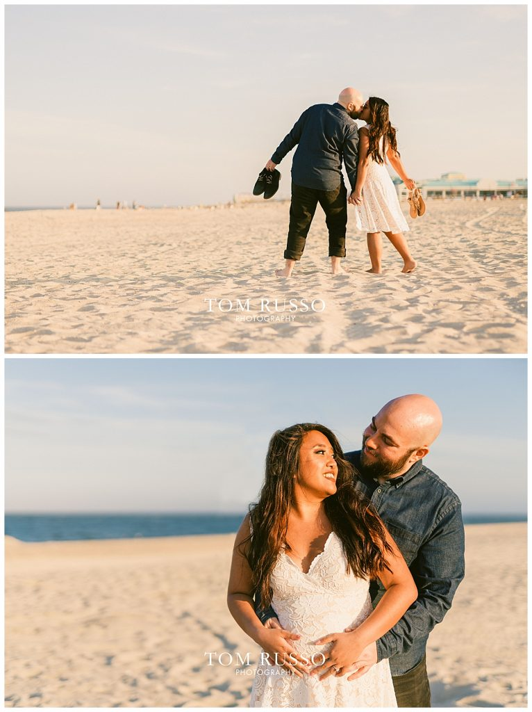 Jon and Kristina Engagement Session Point Pleasant Beach NJ 67