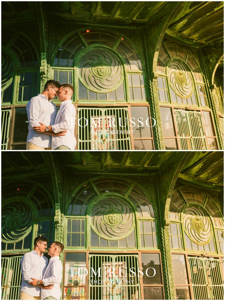 A.J. and Nick Engagement Session Asbury Park Asbury NJ 69