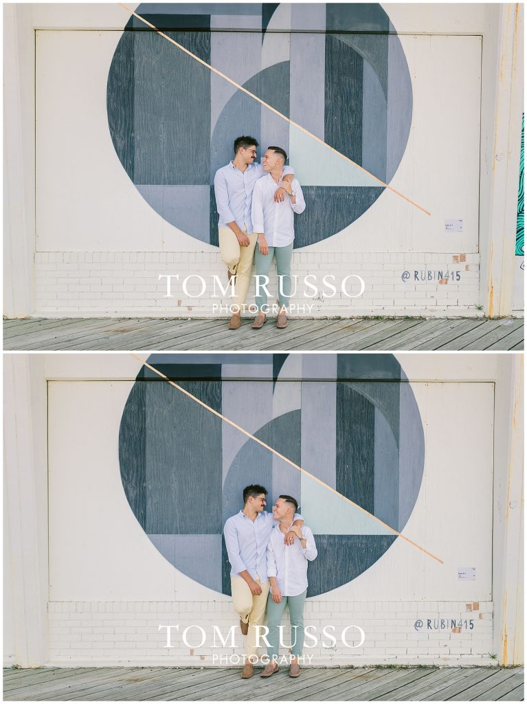 A.J. and Nick Engagement Session Asbury Park Asbury NJ 76