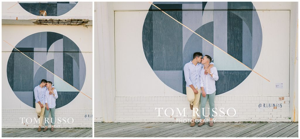 A.J. and Nick Engagement Session Asbury Park Asbury NJ 77