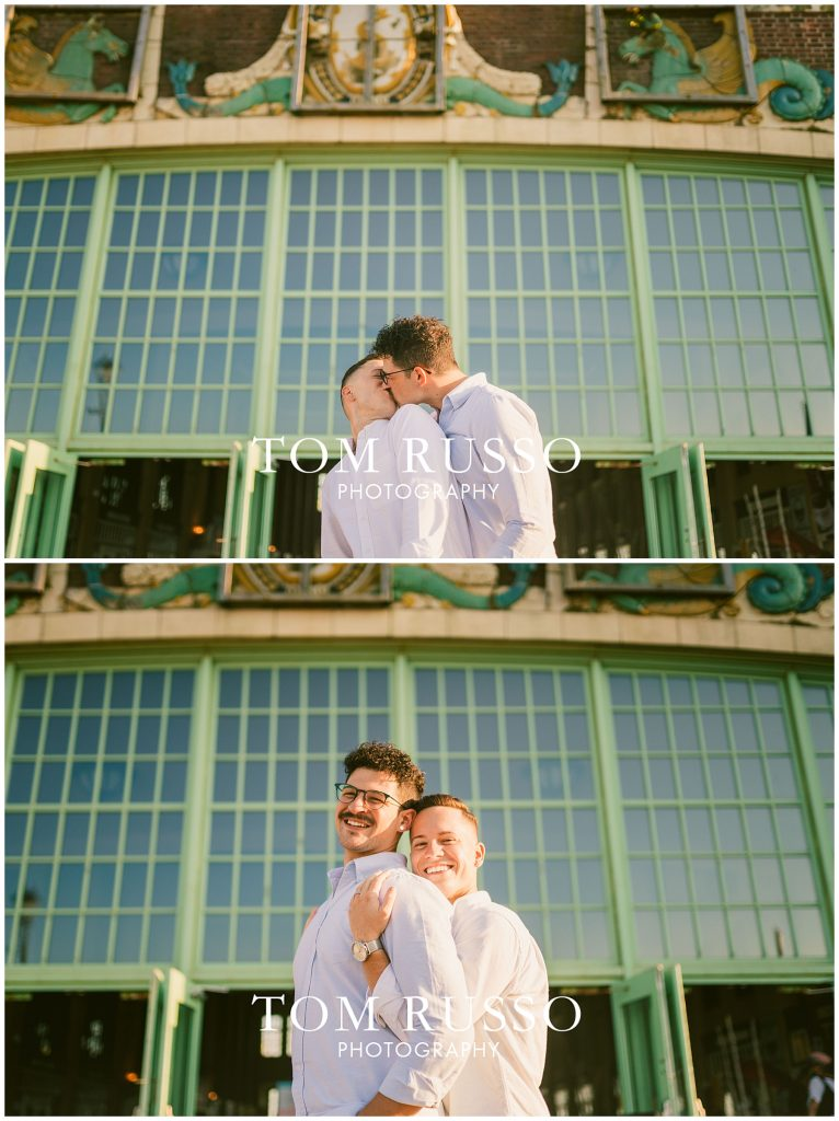 A.J. and Nick Engagement Session Asbury Park Asbury NJ 82