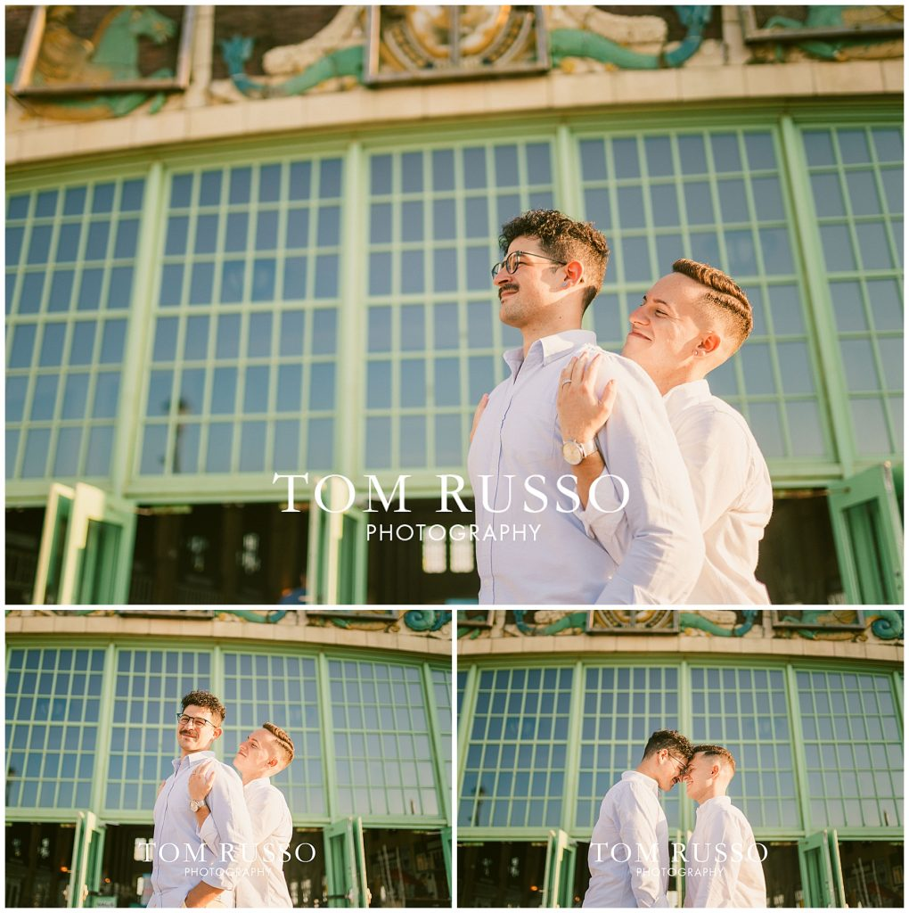 A.J. and Nick Engagement Session Asbury Park Asbury NJ 83