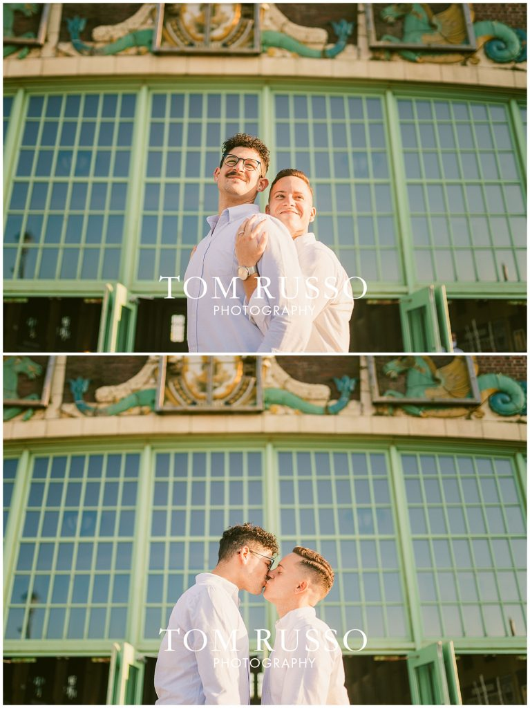 A.J. and Nick Engagement Session Asbury Park Asbury NJ 84