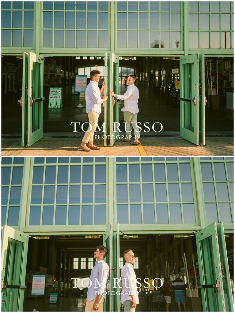 A.J. and Nick Engagement Session Asbury Park Asbury NJ 85
