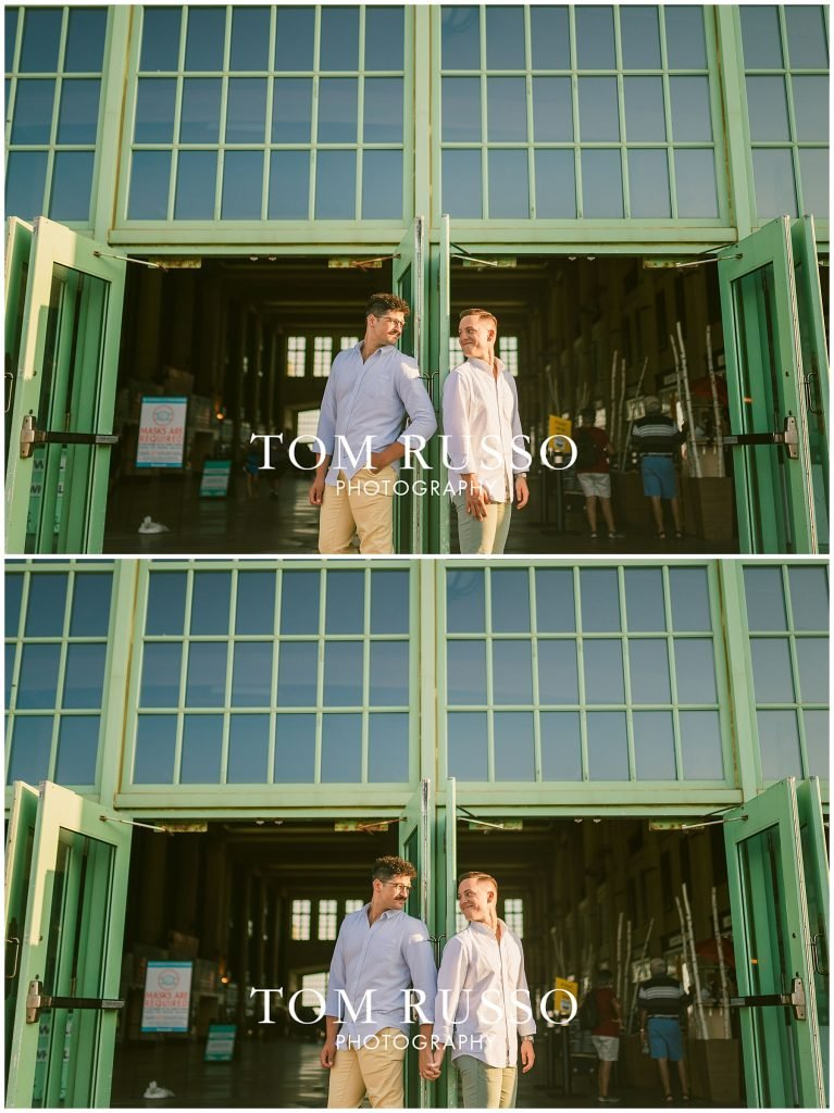 A.J. and Nick Engagement Session Asbury Park Asbury NJ 86
