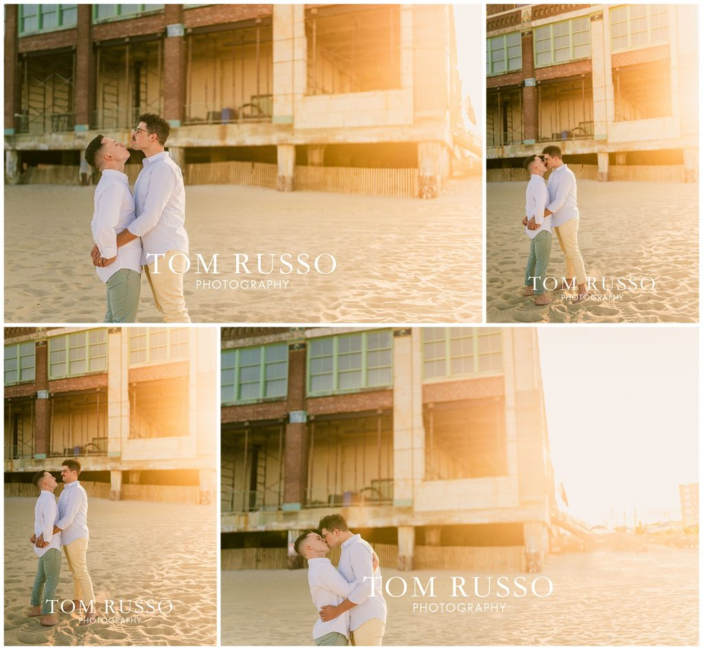A.J. and Nick Engagement Session Asbury Park Asbury NJ 88