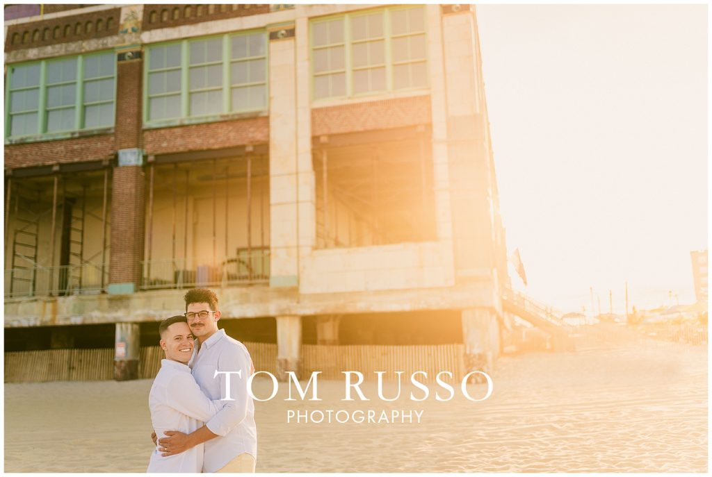 A.J. and Nick Engagement Session Asbury Park Asbury NJ 89