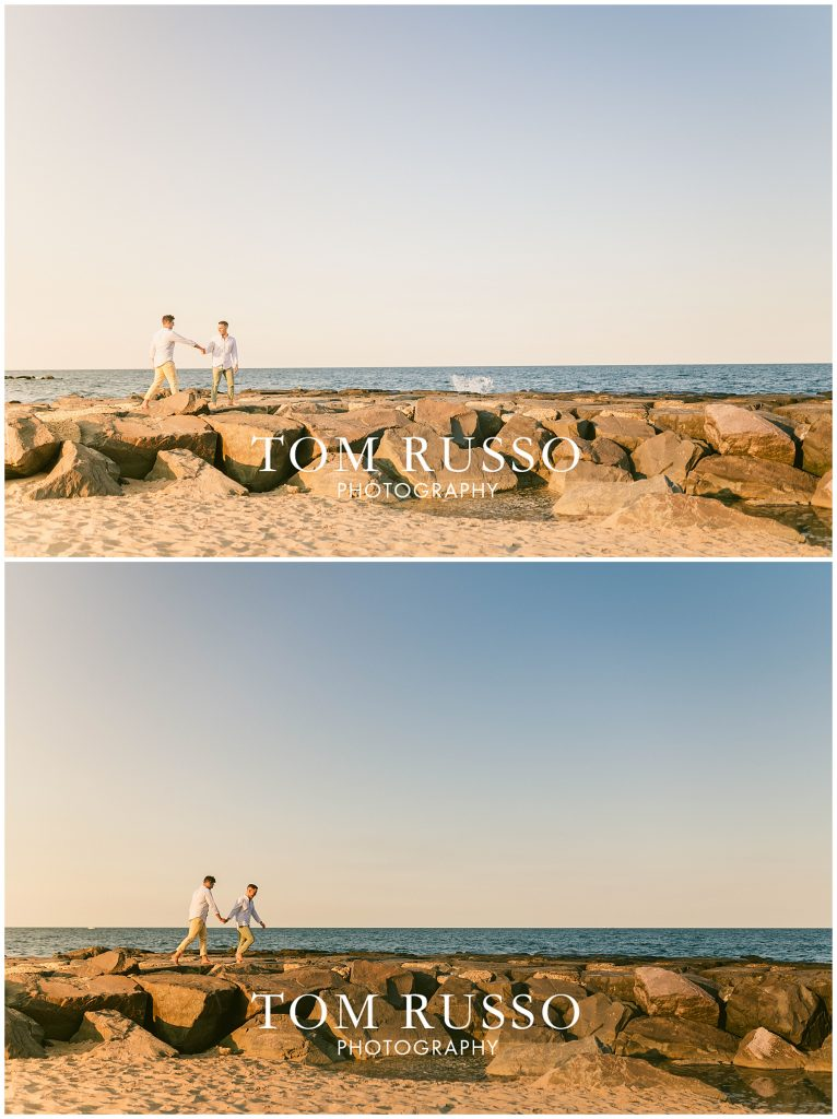 A.J. and Nick Engagement Session Asbury Park Asbury NJ 90
