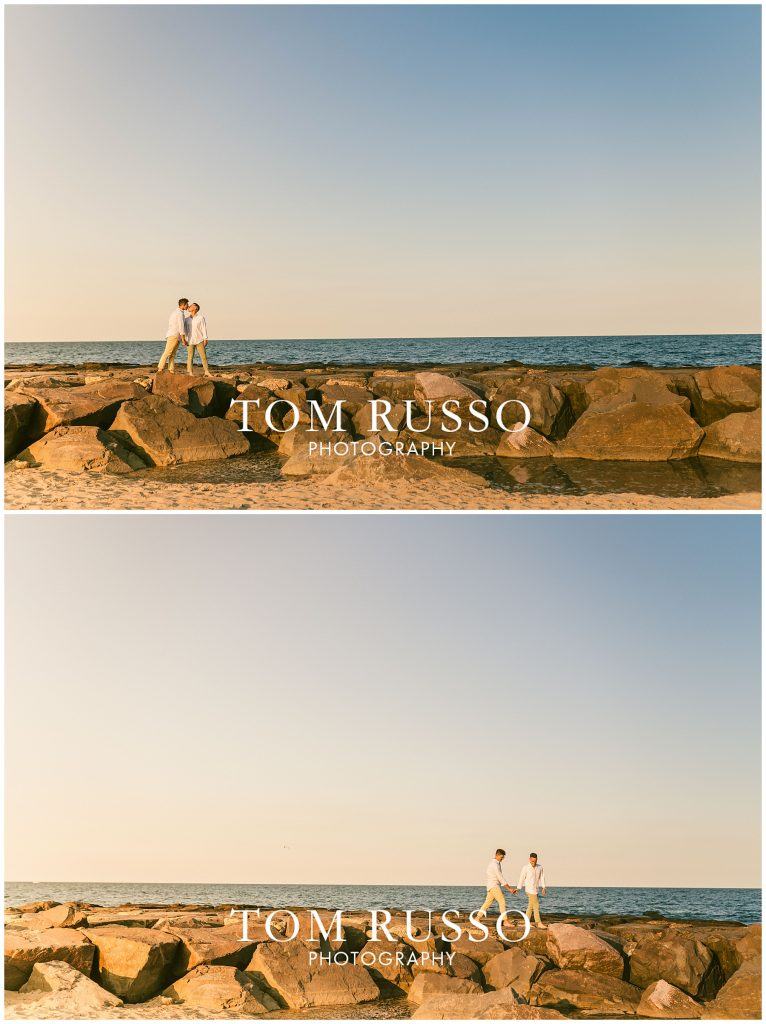A.J. and Nick Engagement Session Asbury Park Asbury NJ 91