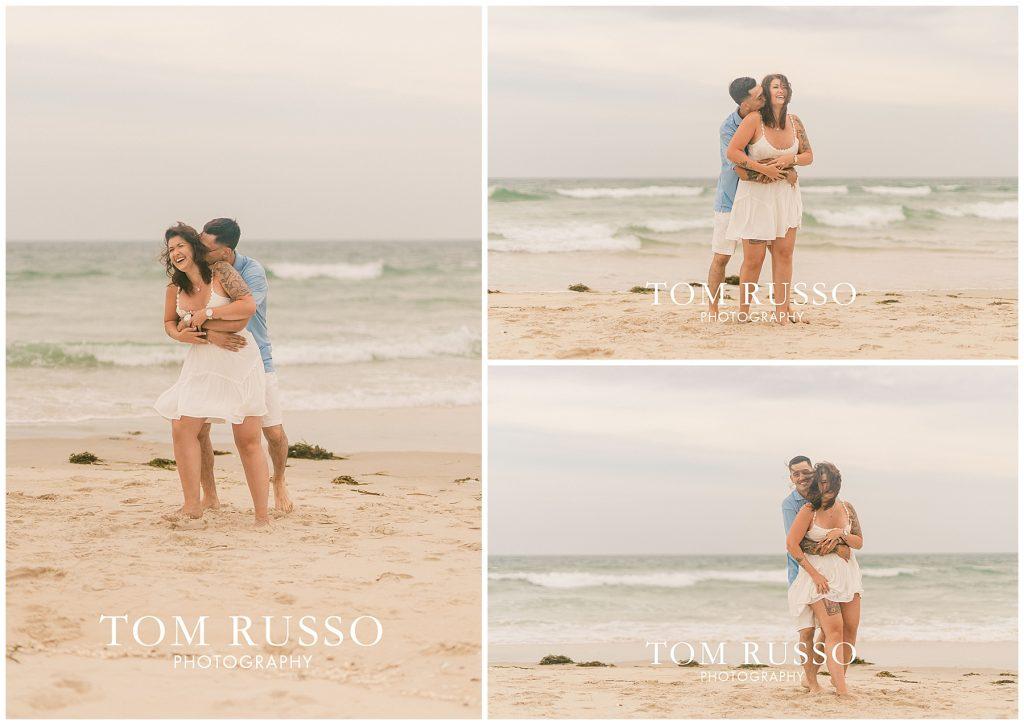 Amanda and Vinny Engagement Session Long Beach Island Holgate NJ 47
