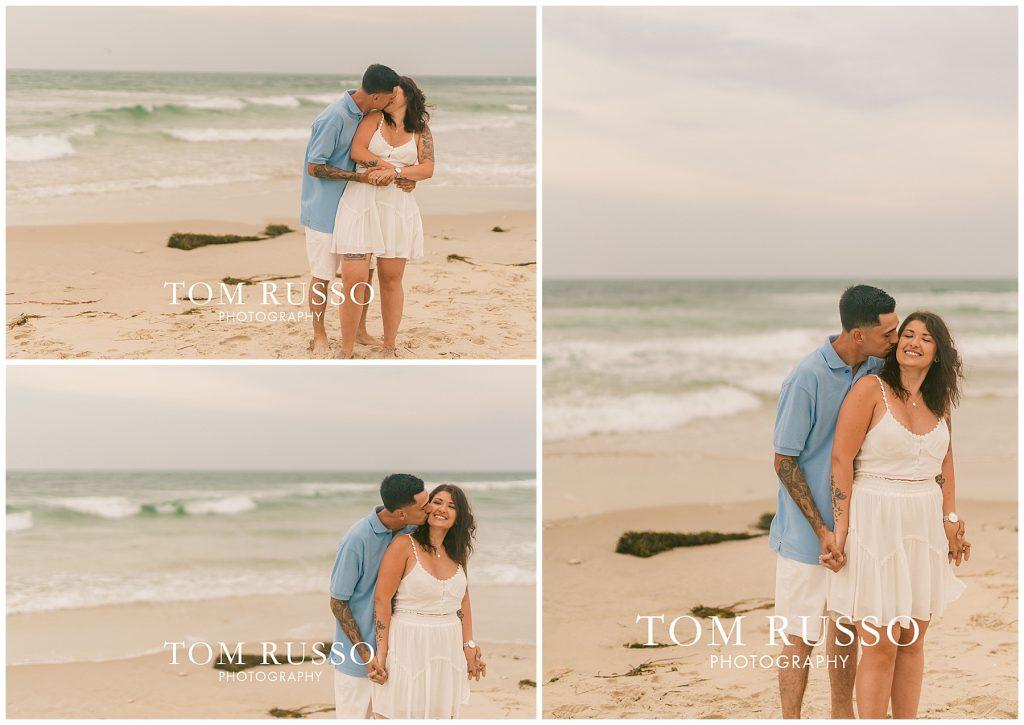 Amanda and Vinny Engagement Session Long Beach Island Holgate NJ 48