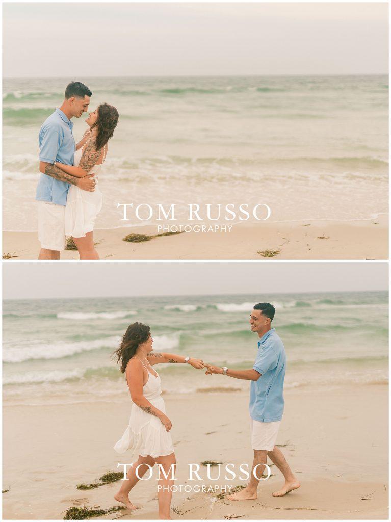 Amanda and Vinny Engagement Session Long Beach Island Holgate NJ 49
