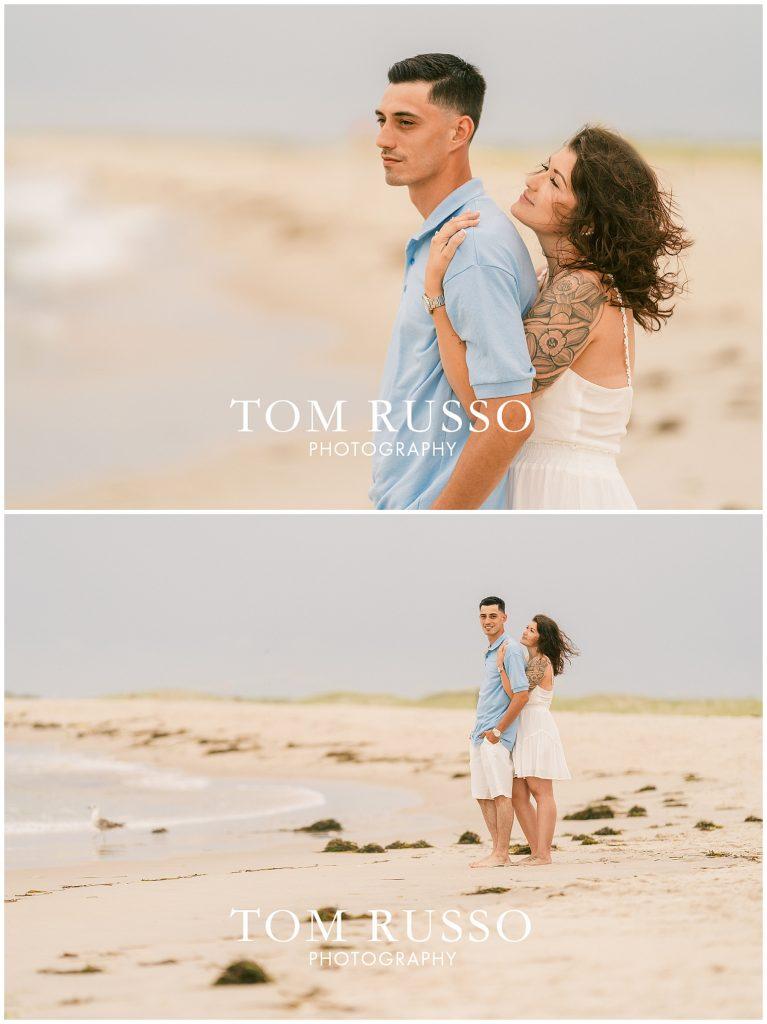 Amanda and Vinny Engagement Session Long Beach Island Holgate NJ 55
