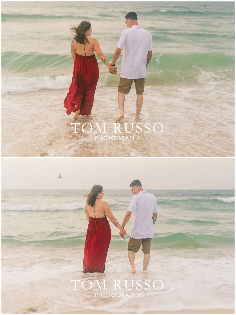 Amanda and Vinny Engagement Session Long Beach Island Holgate NJ 60