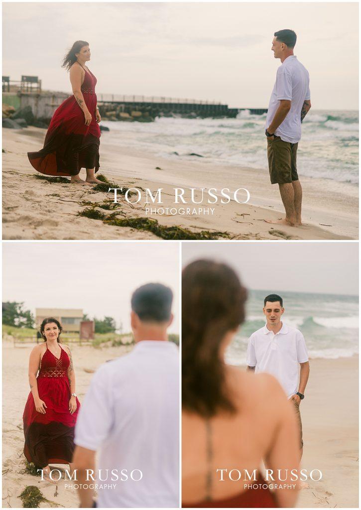 Amanda and Vinny Engagement Session Long Beach Island Holgate NJ 63