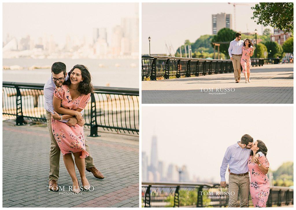 Bianca and Brandon Engagement Session Hoboken NJ 71