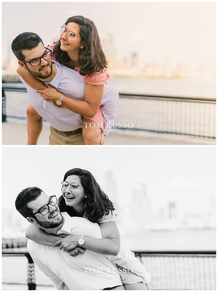Bianca and Brandon Engagement Session Hoboken NJ 72