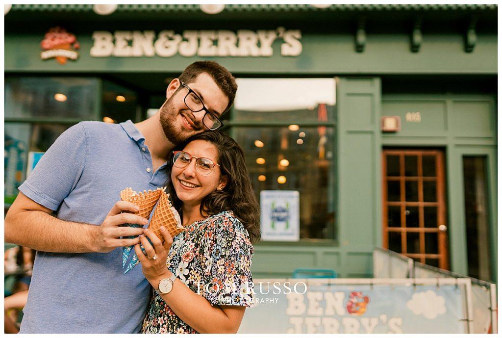 Bianca and Brandon Engagement Session Hoboken NJ 82