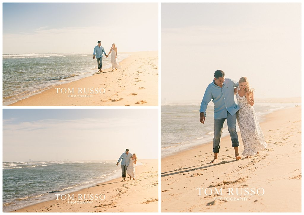 Engagement Session Long Beach Island Holgate NJ